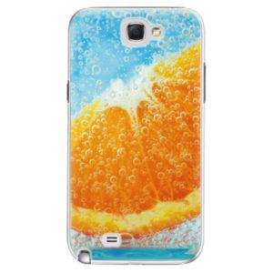 Plastové pouzdro iSaprio - Orange Water - Samsung Galaxy Note 2