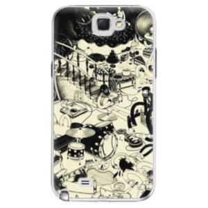 Plastové pouzdro iSaprio - Underground - Samsung Galaxy Note 2
