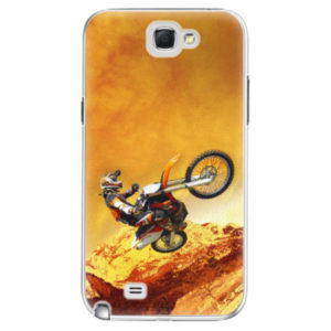 Plastové pouzdro iSaprio - Motocross - Samsung Galaxy Note 2