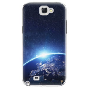 Plastové pouzdro iSaprio - Earth at Night - Samsung Galaxy Note 2