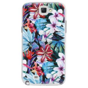 Plastové pouzdro iSaprio - Tropical Flowers 05 - Samsung Galaxy Note 2