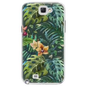 Plastové pouzdro iSaprio - Tropical Green 02 - Samsung Galaxy Note 2