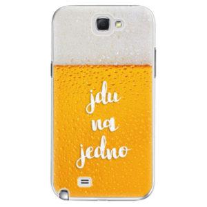 Plastové pouzdro iSaprio - Jdu na jedno - Samsung Galaxy Note 2