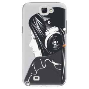 Plastové pouzdro iSaprio - Headphones - Samsung Galaxy Note 2