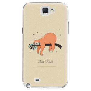 Plastové pouzdro iSaprio - Slow Down - Samsung Galaxy Note 2