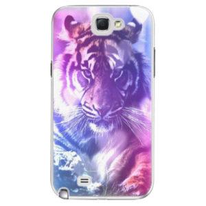 Plastové pouzdro iSaprio - Purple Tiger - Samsung Galaxy Note 2