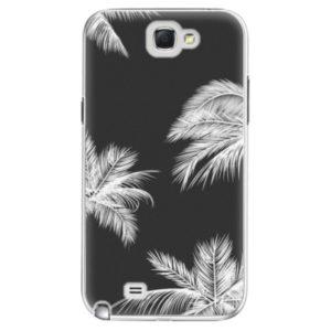 Plastové pouzdro iSaprio - White Palm - Samsung Galaxy Note 2
