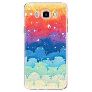 Plastové pouzdro iSaprio - Cats World - Samsung Galaxy J5 2016