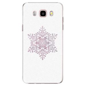 Plastové pouzdro iSaprio - Snow Flake - Samsung Galaxy J5 2016