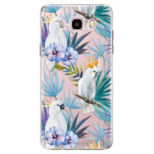 Plastové pouzdro iSaprio - Parrot Pattern 01 - Samsung Galaxy J5 2016