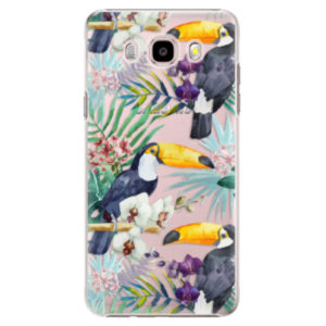 Plastové pouzdro iSaprio - Tucan Pattern 01 - Samsung Galaxy J5 2016