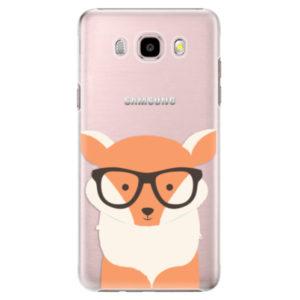 Plastové pouzdro iSaprio - Orange Fox - Samsung Galaxy J5 2016