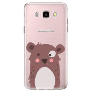 Plastové pouzdro iSaprio - Brown Bear - Samsung Galaxy J5 2016
