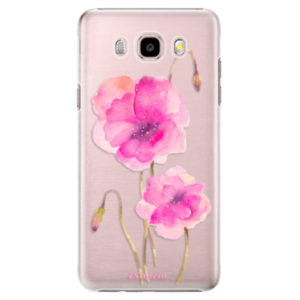 Plastové pouzdro iSaprio - Poppies 02 - Samsung Galaxy J5 2016