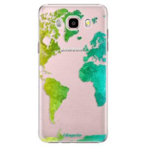 Plastové pouzdro iSaprio - Cold Map - Samsung Galaxy J5 2016