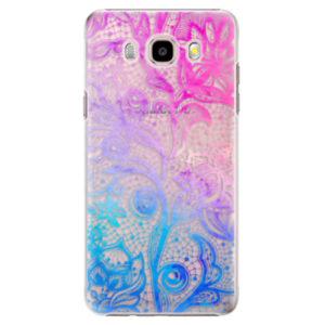 Plastové pouzdro iSaprio - Color Lace - Samsung Galaxy J5 2016