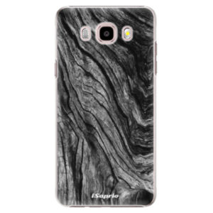 Plastové pouzdro iSaprio - Burned Wood - Samsung Galaxy J5 2016