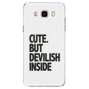 Plastové pouzdro iSaprio - Devilish inside - Samsung Galaxy J5 2016