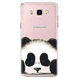 Plastové pouzdro iSaprio - Sad Panda - Samsung Galaxy J5 2016