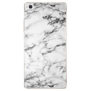 Plastové pouzdro iSaprio - White Marble 01 - Huawei Ascend P8