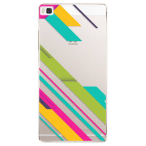 Plastové pouzdro iSaprio - Color Stripes 03 - Huawei Ascend P8