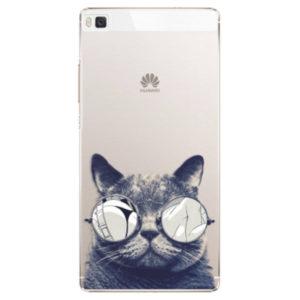 Plastové pouzdro iSaprio - Crazy Cat 01 - Huawei Ascend P8