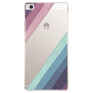Plastové pouzdro iSaprio - Glitter Stripes 01 - Huawei Ascend P8