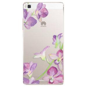 Plastové pouzdro iSaprio - Purple Orchid - Huawei Ascend P8