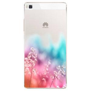 Plastové pouzdro iSaprio - Rainbow Grass - Huawei Ascend P8