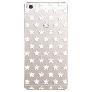 Plastové pouzdro iSaprio - Stars Pattern - white - Huawei Ascend P8