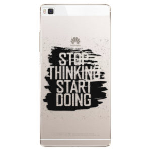 Plastové pouzdro iSaprio - Start Doing - black - Huawei Ascend P8