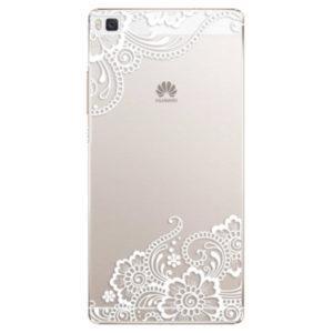 Plastové pouzdro iSaprio - White Lace 02 - Huawei Ascend P8