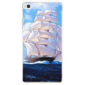 Plastové pouzdro iSaprio - Sailing Boat - Huawei Ascend P8