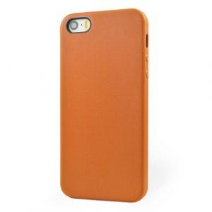 Pružný kryt iSaprio Jelly pro iPhone 5 / 5S oranžový