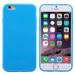 Pružný kryt iSaprio Jelly pro iPhone 6 Plus modrý