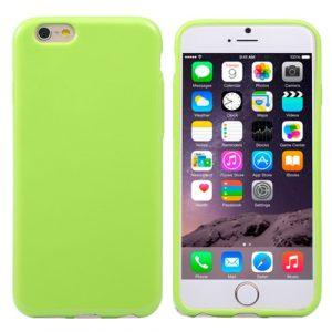 Pružný kryt iSaprio Jelly pro iPhone 6 Plus zelený