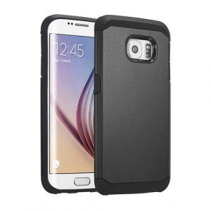 Odolný kryt / pouzdro Spigen Tough Armor pro Galaxy S6 Edge černý