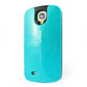 Pružný kryt / pouzdro Verus Oneye pro Galaxy S4 modrý