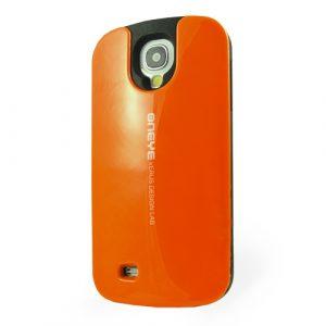Pružný kryt / pouzdro Verus Oneye pro Galaxy S4 oranžový