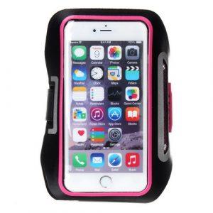 Sportovní pouzdro pro iPhone 6 Plus / Samsung Galaxy Note 5 / Note 4 / Note 3 / Note 2 / Note 1 růžové