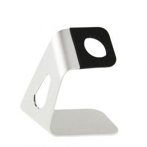 Hliníkový nabíjecí stojánek Simple pro Apple Watch 38mm / 42mm stříbrný