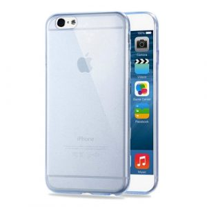 Pružný kryt HAWEEL 0.3mm Zero pro iPhone 6 Plus / 6S Plus modrý