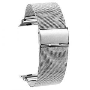 Kovový pásek / řemínek iSaprio Milanese Classic pro Apple Watch 38mm