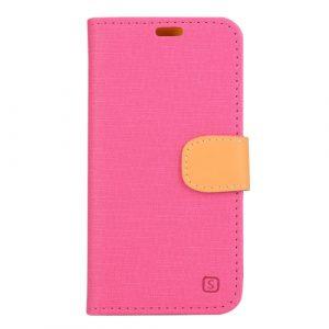 Pouzdro / kryt iSaprio Flip Case Pink pro Lenovo Vibe Shot