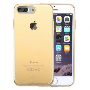Pružný kryt Baseus Simple pro iPhone 7 Plus Gold