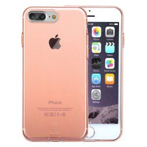 Pružný kryt Baseus Simple pro iPhone 7 Plus Rose Gold