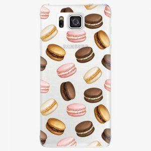 Plastový kryt iSaprio - Macaron Pattern - Samsung Galaxy Alpha