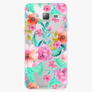 Plastový kryt iSaprio - Flower Pattern 01 - Samsung Galaxy J3 2016