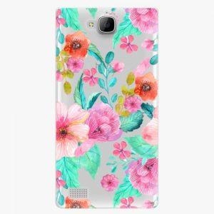 Plastový kryt iSaprio - Flower Pattern 01 - Huawei Honor 3C