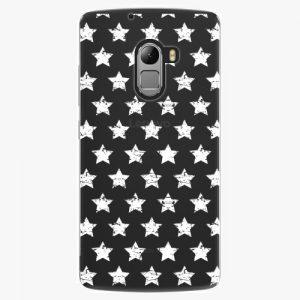 Plastový kryt iSaprio - Stars Pattern - white - Lenovo A7010